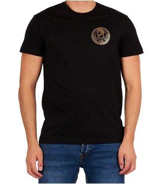 Versace Jeans couture Versace jeans Couture : T-shirt slim medal foil Black