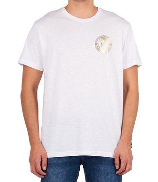 Versace Jeans couture Versace jeans Couture: T-shirt slim medal foil White