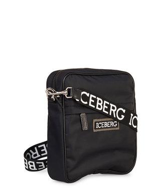 ICEBERG Iceberg : messenger bag Black