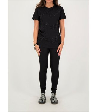 Reinders Reinders : T-shirt All over Black/Black-W481F