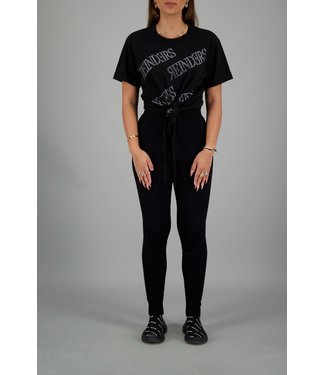 Reinders Reinders : T-shirt All over Black/White