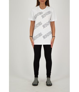 Reinders Reinders : T-shirt All over White/Black