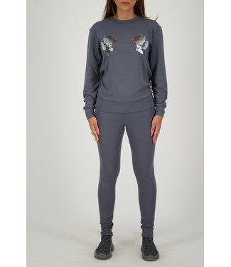 Reinders Reinders : Sweater head logo Grey/Silver
