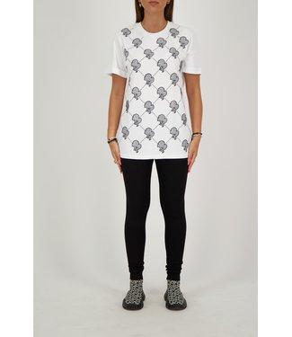 Reinders Reinders : T-shirt Logo mania White/Black