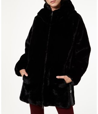 LiuJo LiuJo : Jacket faux fur Black