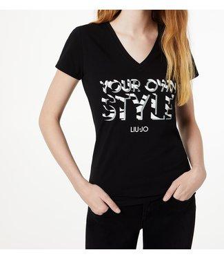 LiuJo LiuJo : T-shirt Your own Black