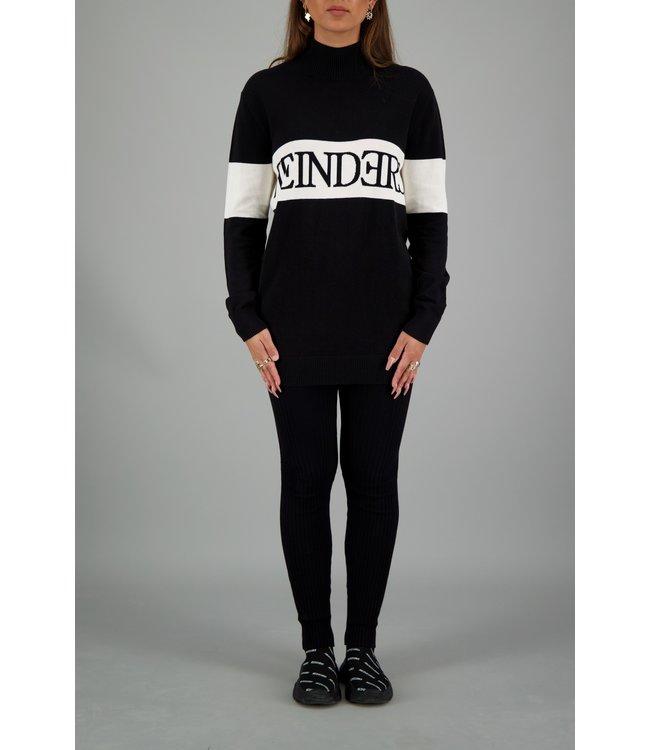 Reinders Reinders : Sweater turtle neck Black