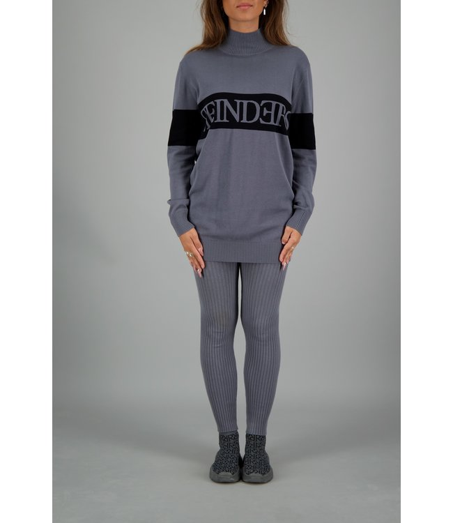 Reinders Reinders : Sweater turtle neck Metal
