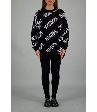 Reinders Reinders : Sweater roundneck Black