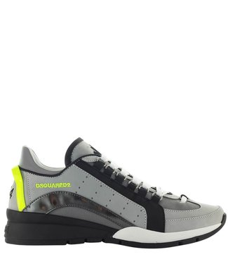 Dsquared2 Dsquared2 : Sneaker Black silver grey