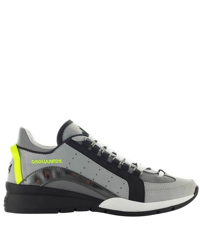 Dsquared2 Dsquared2 : Sneaker Black silver grey