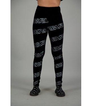 Reinders Reinders : Pants velvet allover-Black