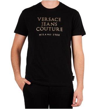 Versace Jeans couture Versace jeans : T-shirt slim mc 9b Black