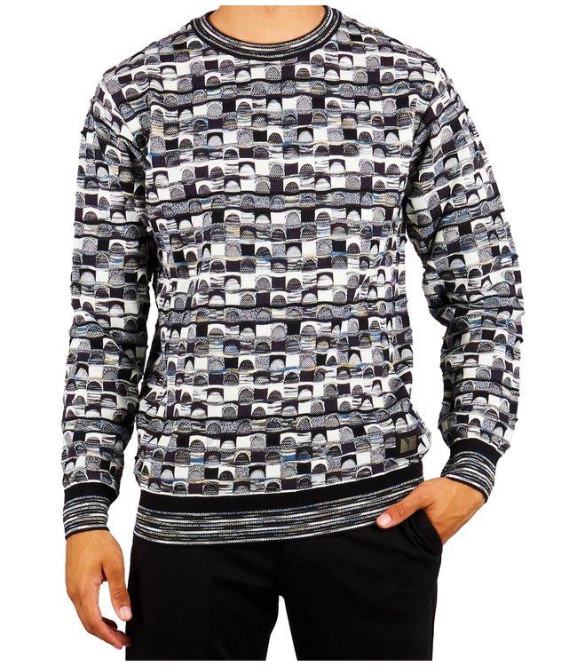 Carlo colucci CARLO COLUCCI : Sweater Black grey