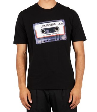 Love moschino Love Moschino :T-shirt Cassetta Black