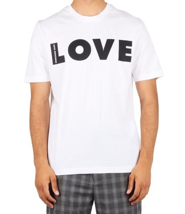 Love moschino Love Moschino : T-shirt Love White