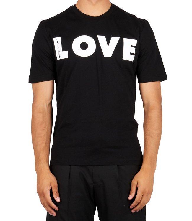 Love moschino Love Moschino : T-shirt Love Black