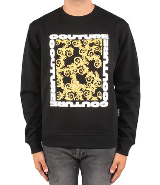 Versace Jeans couture Versace jeans : Sweater brushed B3GUB7K9-Black