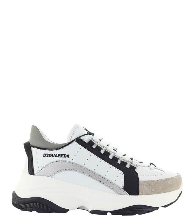 Dsquared2 Dsquared2 :Bumpy sneaker Bianco-Nero