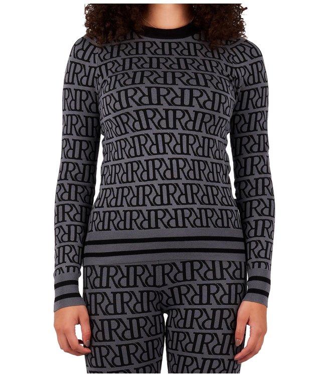 Reinders Reinders : Sweater RRprint Grey