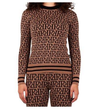 Reinders Reinders : Sweater RRprint Wood