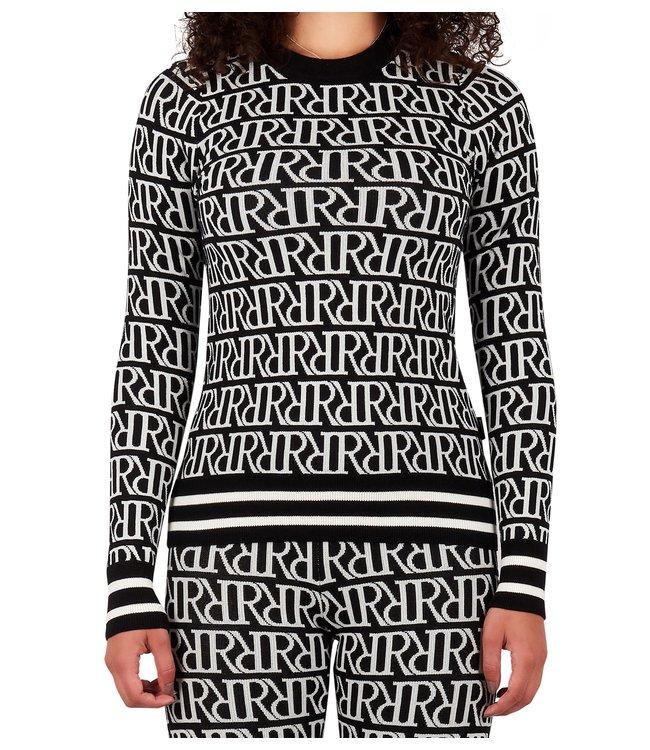 Reinders Reinders : Sweater RRprint Black