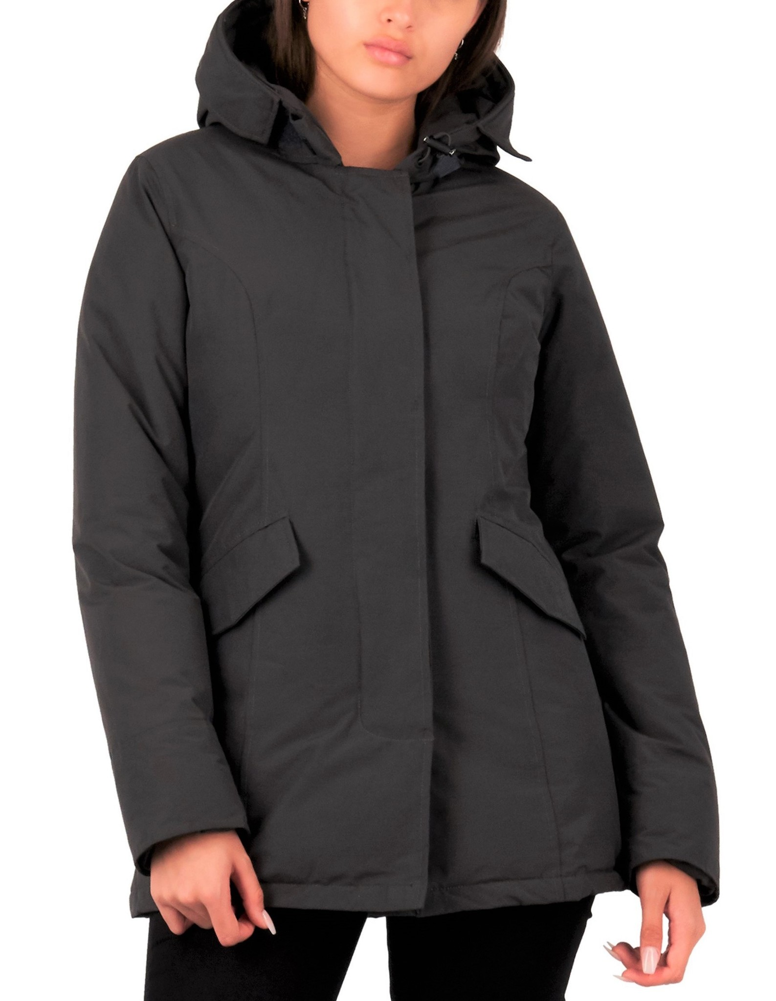 Airforce : 2 pocket parka HRW0425 Met.Grey