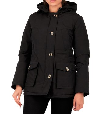 Airforce Airforce : 4 pocket parka HRW0428-Black