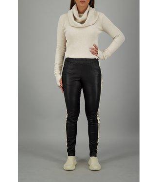 Reinders Reinders : Leather pants-Black