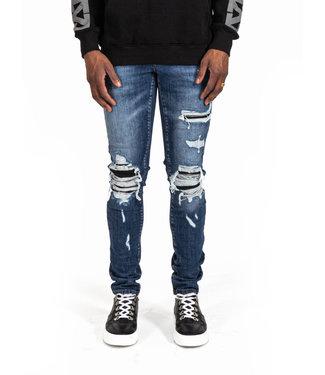 Xplicit Xplicit :Jeans Biker Blue