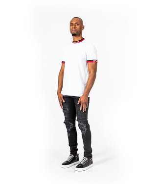 Xplicit Xplicit : T-shirt Ami White