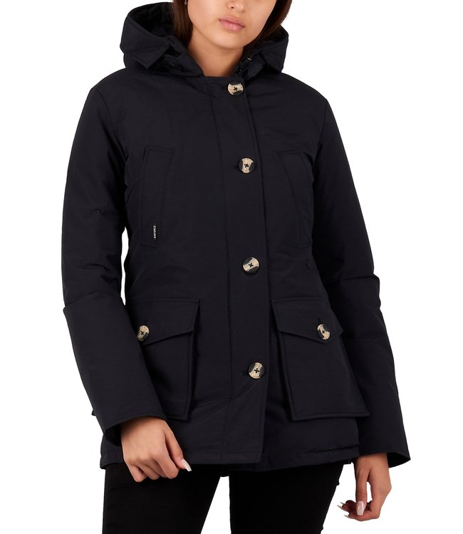 Airforce Airforce : 4 pocket parka HRW0428-Navy