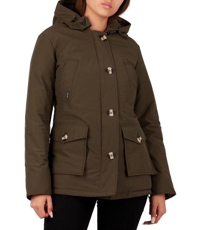 Airforce Airforce : 4 pocket parka HRW0428-Olive night