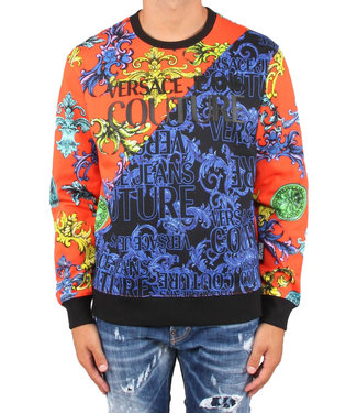 Versace Jeans couture Versace Jeans : Sweater sprous barok print