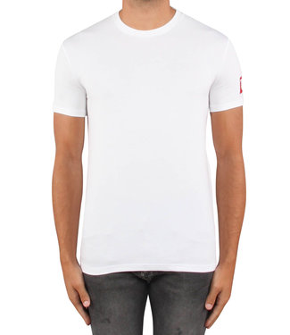 Dsquared2 Dsquared2 : T-shirt patch arm logo White