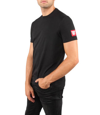 Dsquared2 Dsquared2 : T-shirt patch arm logo Black-D9M202460