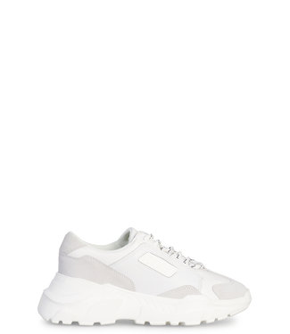 Versace Jeans couture Versace Jeans : Sneakers suede coated White