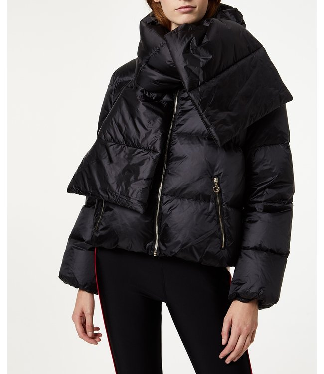 LiuJo LiuJo : Jacket Brunico scarf Black-