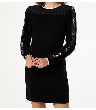 LiuJo LiuJo : Dress logo tape Black