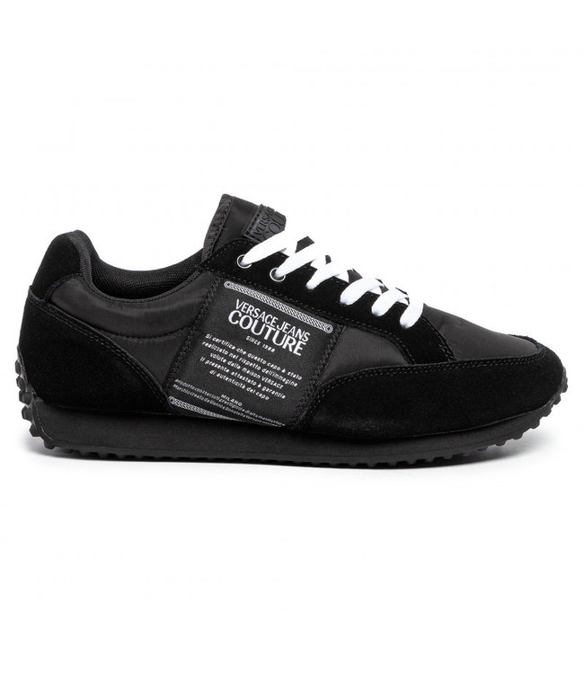 Versace Jeans couture Versace Jeans : Sneakers nylon tag-Black