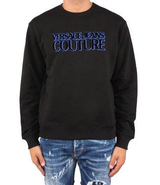 Versace Jeans couture Versace Jeans : Sweater fleece logo Black-B3GUB7TJ