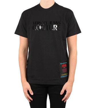 Versace Jeans couture Versace jeans : T-shirt Foil 14 B3GUB7M1-Black
