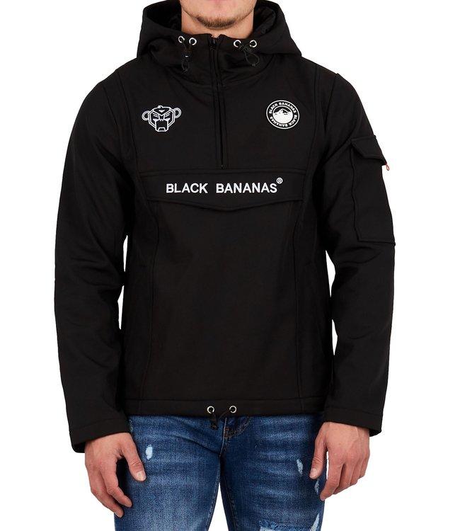 Black Bananas Black bananas : Anorak fleece jacket Black