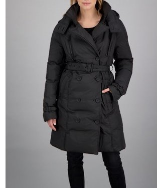 Airforce Airforce : paddedTrench coat FRW0636-Black