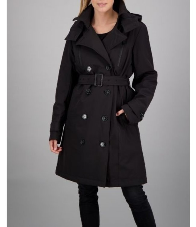 Airforce Airforce : winter Trench coat FRW0635-Black