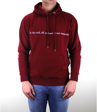 Throwback Throwback : Hoodie memories Bordo