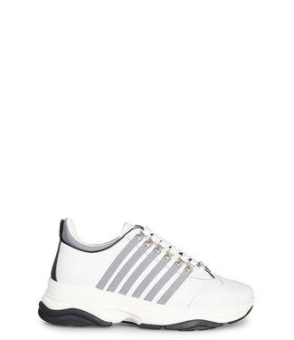 Dsquared2 Dsquared2 : Sneaker bumpy-White/grey