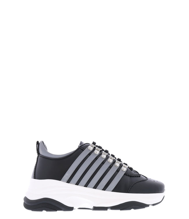 Dsquared2 Dsquared2 : Sneaker bumpy-Black/grey