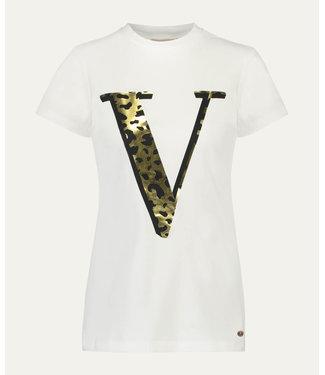 Joshv Joshv : T-shirt ZOE JAGUAR off White