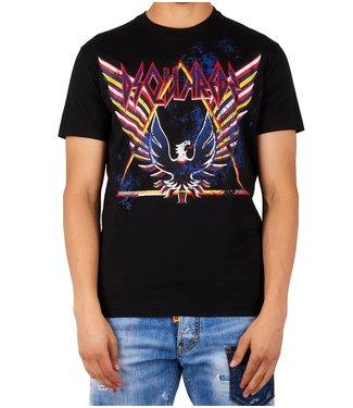 Dsquared2 Dsquared2 : T-shirt Eagle rock Black